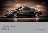 Třída S - Mercedes-Benz PRAHA