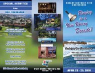 Registration PDF - Rotary International District 5170
