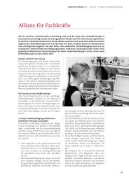Allianz gegen Fachkräftemangel - Karin Evers-Meyer