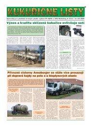 Výnos a kvalitu sklízené kukuřice ovlivňuje setí - VP Agro