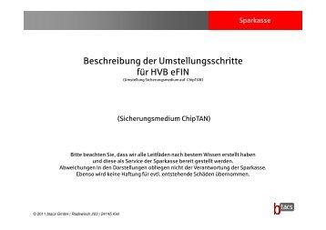 HVB eFIN - Sparkasse Spree-Neiße