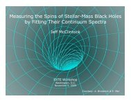 Measuring the Spins of Stellar-Mass Black Holes by ... - HEASARC