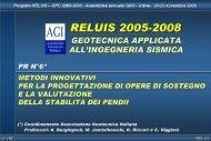 Presentazione di PowerPoint - ReLUIS