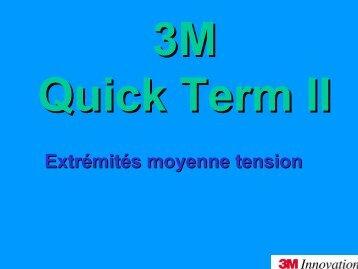 Extrémités moyenne tension - 3M