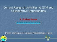 17.Current Research Activities at IITM and Collaborative Opportunities.