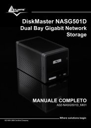 DiskMaster NASG501D - Atlantis Land