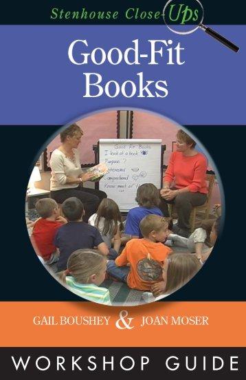 Good-Fit Books Close-up VG:Layout 1.qxd - Stenhouse Publishers