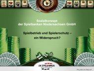 Sozialkonzept der Spielbanken Niedersachsen GmbH