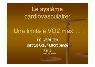 le systéme cardiovasculaire - Club des Cardiologues du Sport