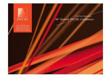 AVCAL September 2007 Presentation - Technology Venture Partners