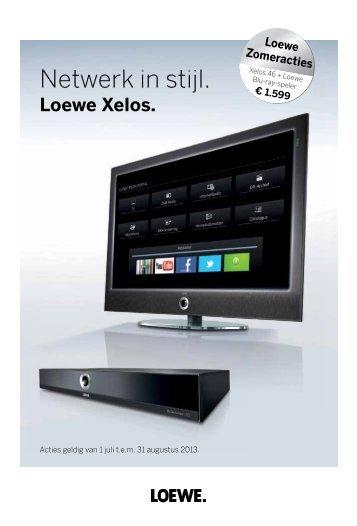 Loewe - Zomeracties: juli - augustus 2013