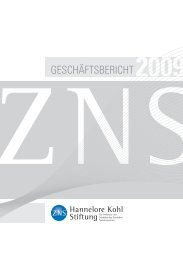 2009 - Hannelore Kohl Stiftung