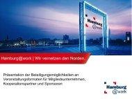 Zielgruppe - Hamburg@work