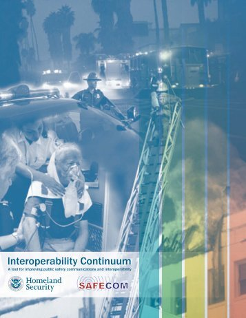 Interoperability Continuum Brochure - Emergency Medical Services ...