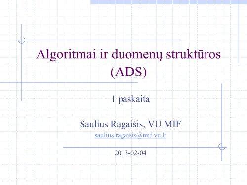 1-os paskaitos skaidrÄ—s (Atsiskaitymo tvarka ir reikalavimai)
