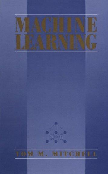 Machine - Learning - Tom Mitchell