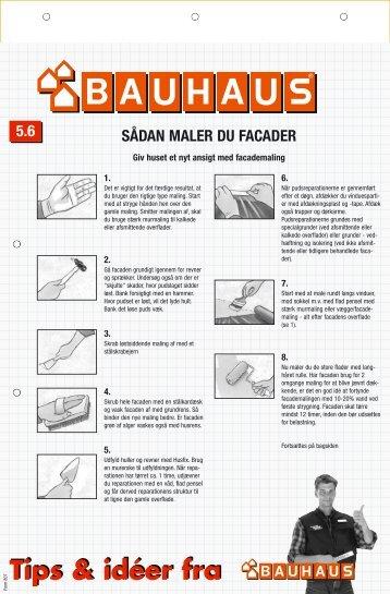 maler facader - Bauhaus