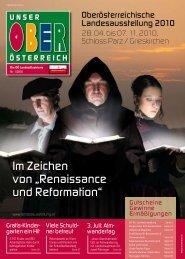 Unser Oberösterreich – Die Landesillustrierte 1/2010