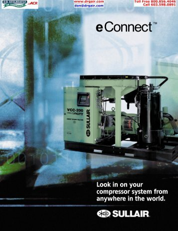 eConnect™ - D.R. Guilbeault Air Compressor