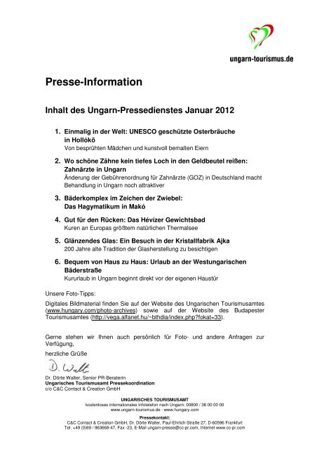 2012-01-Januar - Pressedienst Ungarn