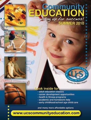Summer School Age Child Care Registration