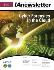 Cyber Forensics in the Cloud - IAC - Defense Technical Information ...