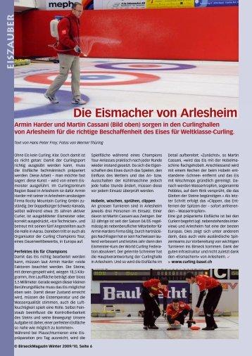 Die Eismacher von Arlesheim - Birseck Magazin