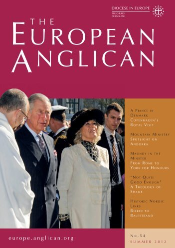 Summer 2012 - Diocese in Europe