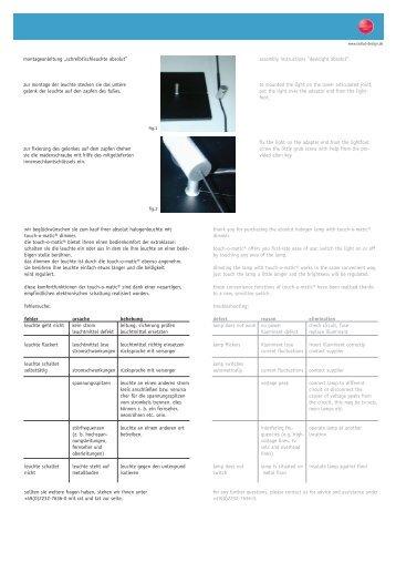 Montageanleitung zur ahk kfzpoint for Topdeq katalog