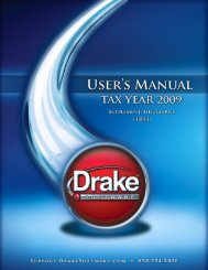 Form 1041-A - Drake Software