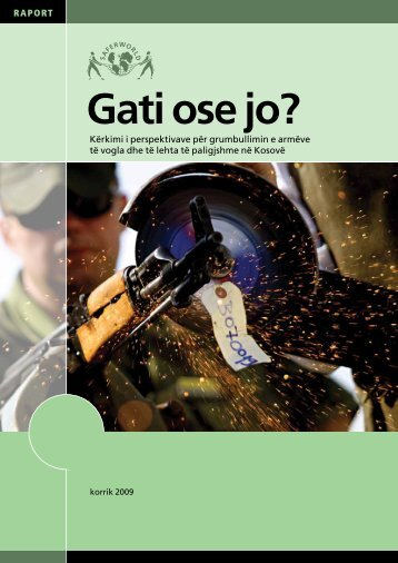 Gati ose jo? - Saferworld