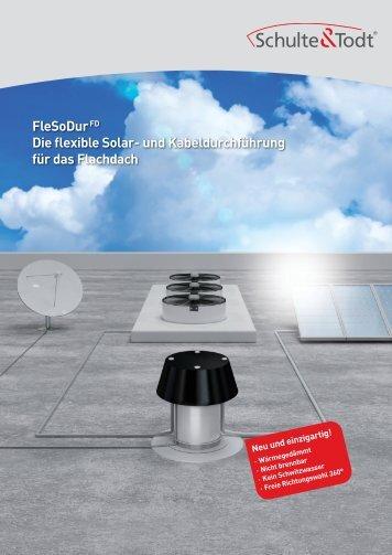 FleSoDur FD - Dachdurchführungen von Schulte & Todt
