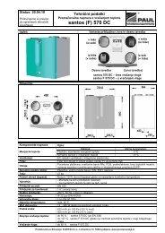 SANTOS (F) 570 DC (cool) Tehnični podatki 20 04 ... - E-NETSI d.o.o.