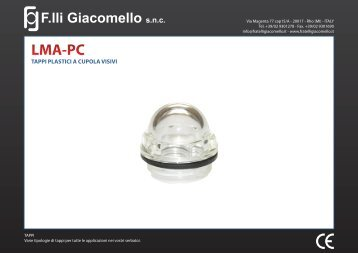 LMA-PC - F.lli Giacomello