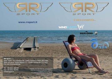 Brochure prodotti RR Sport Mare