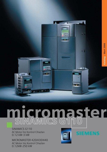 Micromaster Broşür TR - Teknika Otomasyon