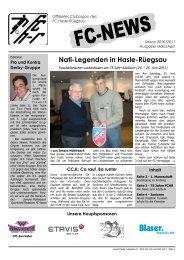 Nati-Legenden in Hasle-Rüegsau - FC Hasle-Rüegsau