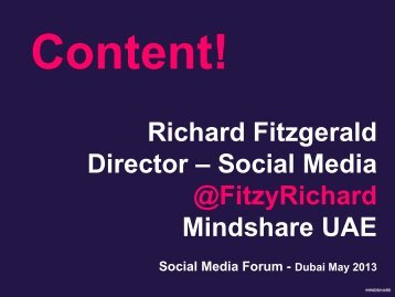 CONTENT! - IIR Middle East