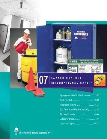 PDF catalog - International Safety Systems Inc.