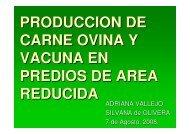 Produccion de carne - Departamento de Producción Animal y ...