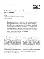 The Fate of Neo-Sex Chromosomes in Drosophila albomicans ...