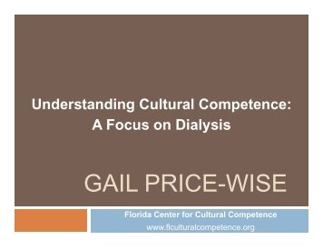 Understanding Cultural Competence A Focus on Dialysis - FMQAI