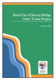 Outer Townships Report - Rural City of Murray Bridge - SA.Gov.au