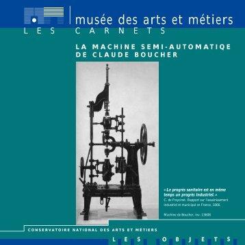 Téléchargez ce carnet au format pdf - Musée des arts et métiers
