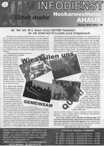 hin 'tritt-r uitti 'irrt: azetaii trauert ClisTott-Trirotstrotrtt - UWZ - Archiv