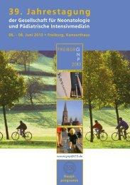 39. Jahrestagung - GNPI 2013, Freiburg