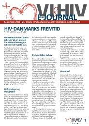 VI&HIV september 2011 - Hiv-Danmark