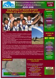 Août 2008 - Ligue de Vol Libre de la Réunion