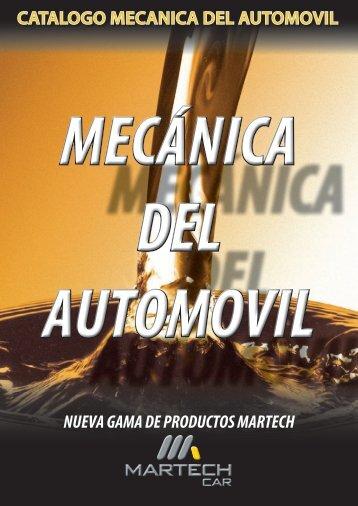 CATALOGO MECANICA DEL AUTOMOVIL NUEVA ... - El Chapista