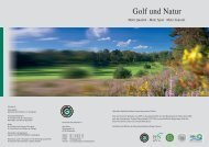 Golf und Natur - Jura Golf Park